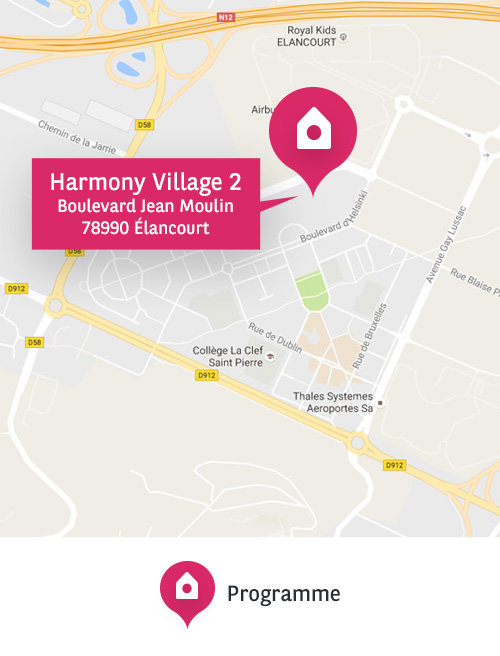 harmony village Elancourt BNPPI