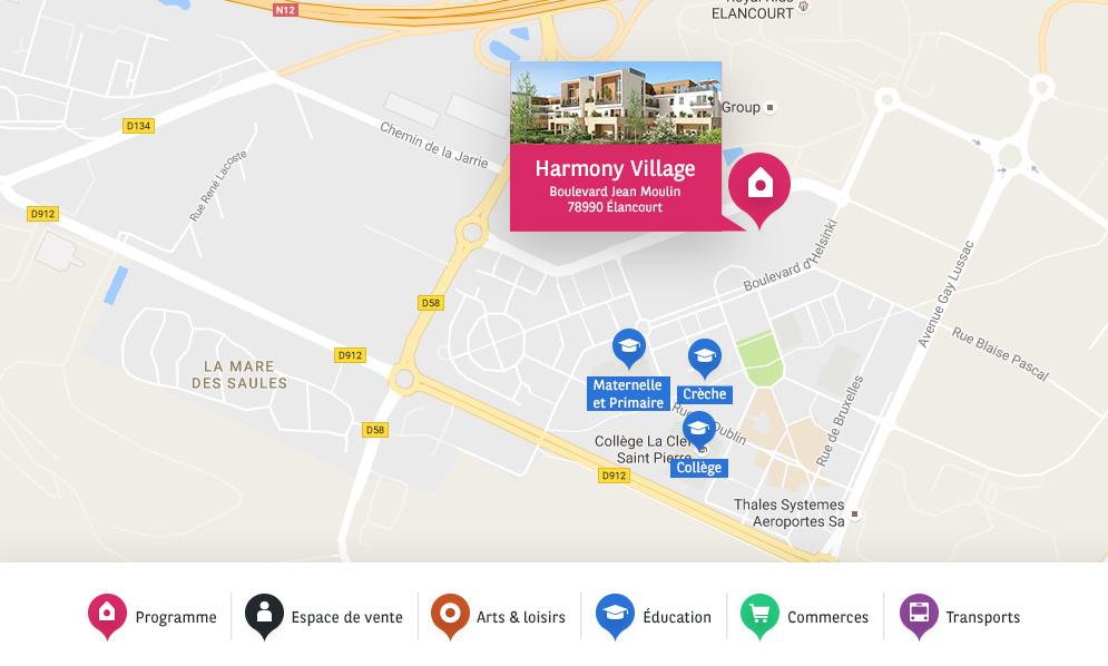 harmony village bnpparibas immobilier