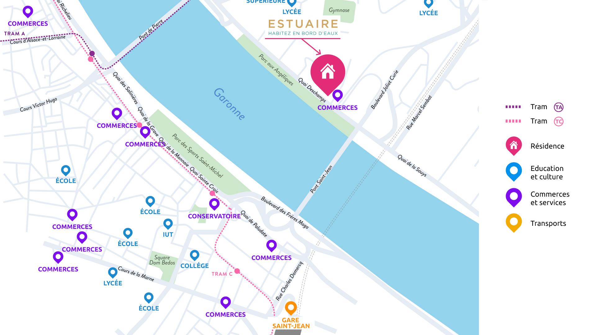 Estuaire Bordeaux BNP Paribas immobilier