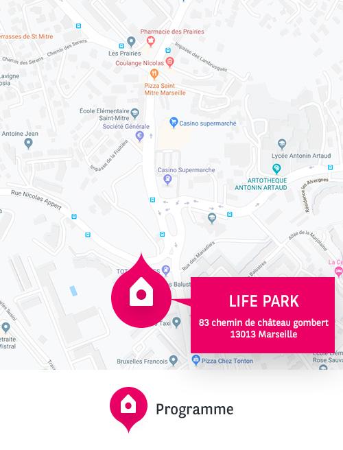 appartements neufs à Marseille