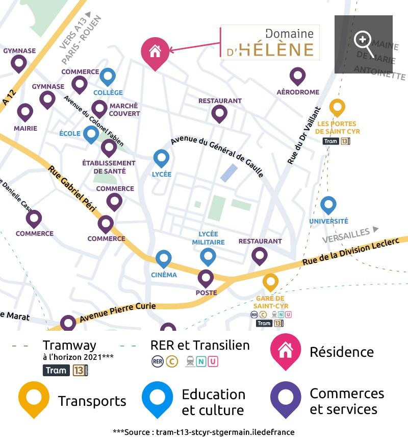 adresse immobilier neuf à Saint-Cyr