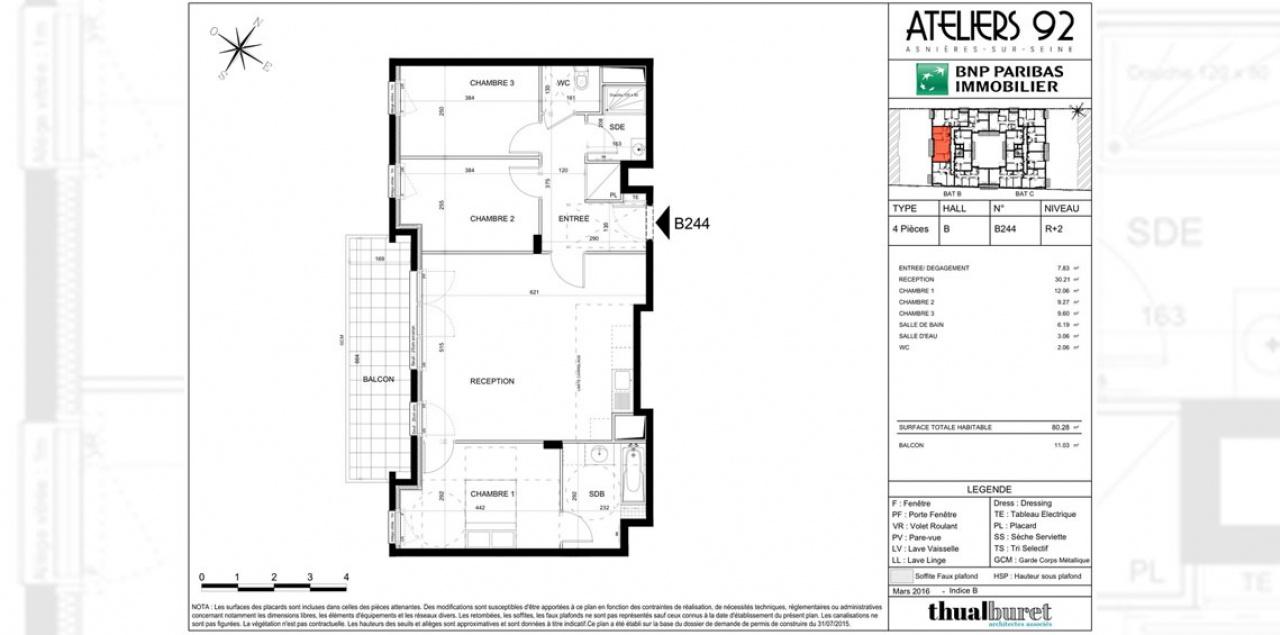 Finest Immobilier Neuf Lire Le Plan De Votre Futur Appartement With Plan  Maison Avec Tour Carre
