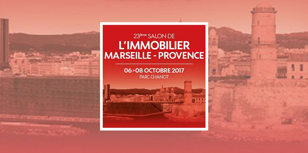 Le 23e salon de l immobilier marseille provence 2017 for Distance marseille salon de provence