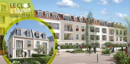 Immobilier neuf : Le Clos des vignes Rueil-Malmaison (92500)