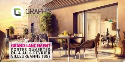programme immobilier neuf graphis à villeurbanne 69