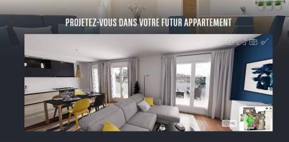 La montée des visites virtuelles dans le secteur de l'immobilier