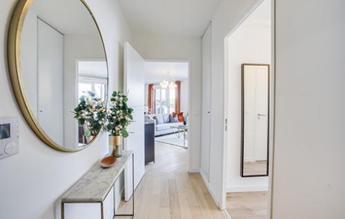 appartement décoré neuf Clamart rive droite bnp paribas immobilier