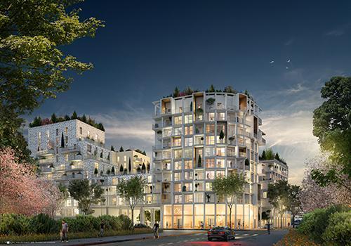 Asnières Sur Seine - Open Sky - Nouveau Programme Immobilier BNP PARIBAS