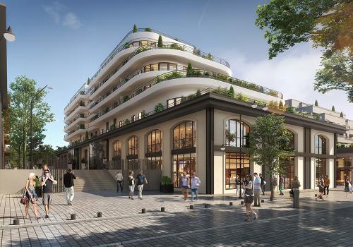 Appartement neuf à St Ouen sur Seine