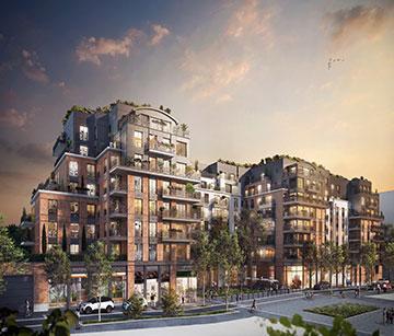 Appartements neufs à Courbevoie