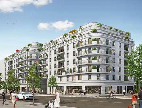 Appartement neuf à Saint Ouen sur Seine