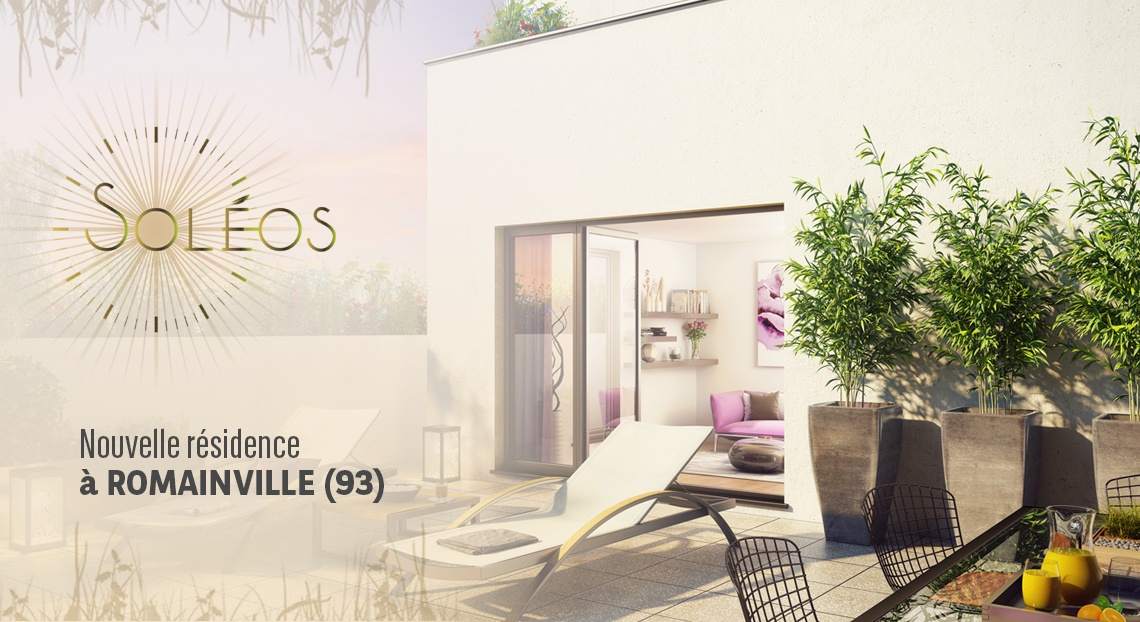 bnp paribas immobilier soleos romainville immobilier neuf