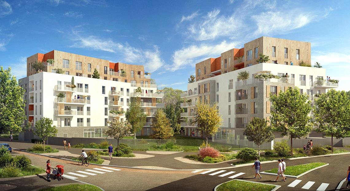 cergy-pontoise-horizon-parc- achat appartement neuf