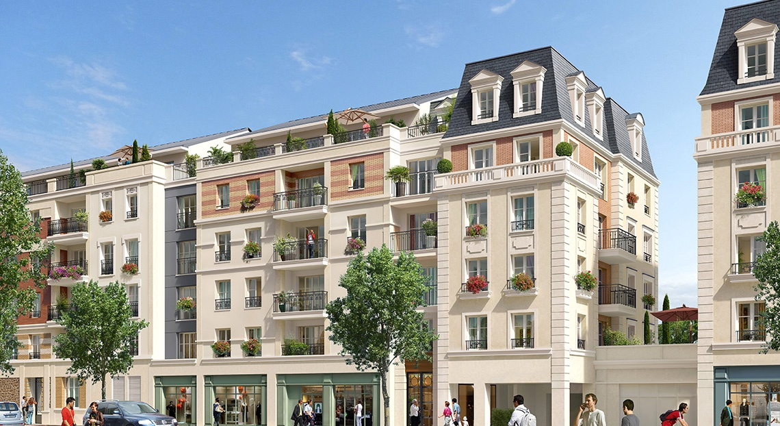 Programme immobilier maisons alfort royal mansart for 94700 maison alfort