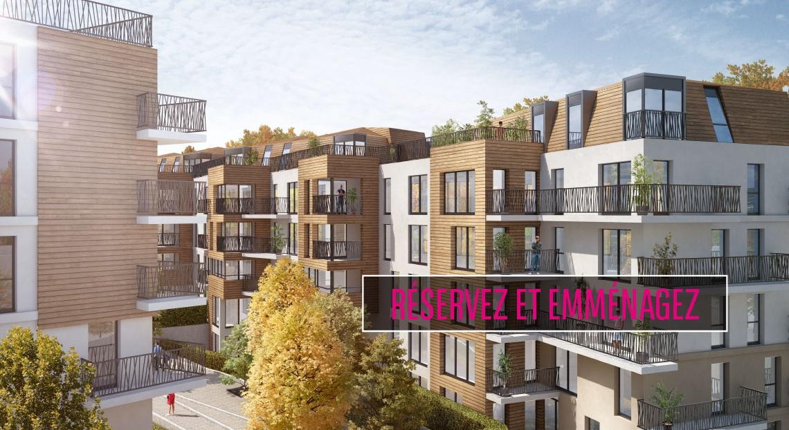 Chaville coeur boisé appartement neuf bnp paribas immobilier
