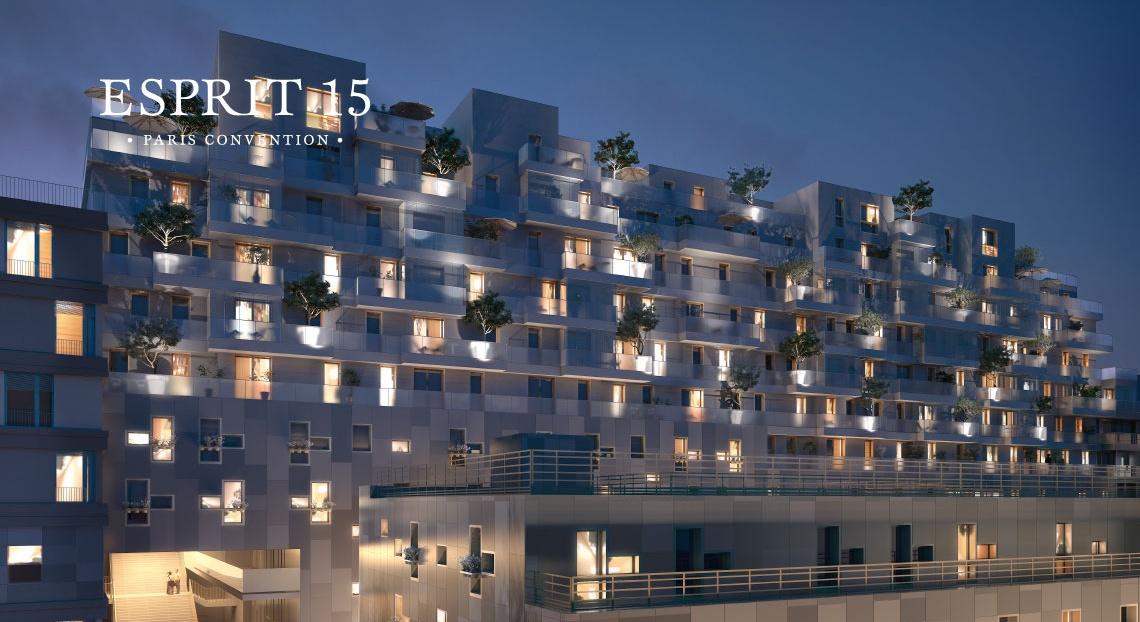 Paris-Esprit15-immobilier neuf programme neuf