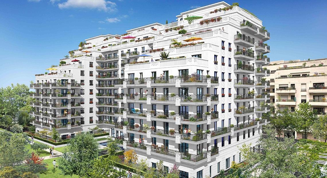 cast'l park levallois perret bnppi logement neuf vefa