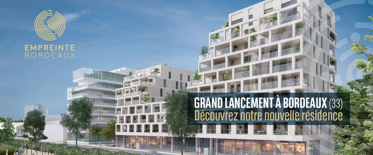 Bordeaux Empreinte logement neuf appartement