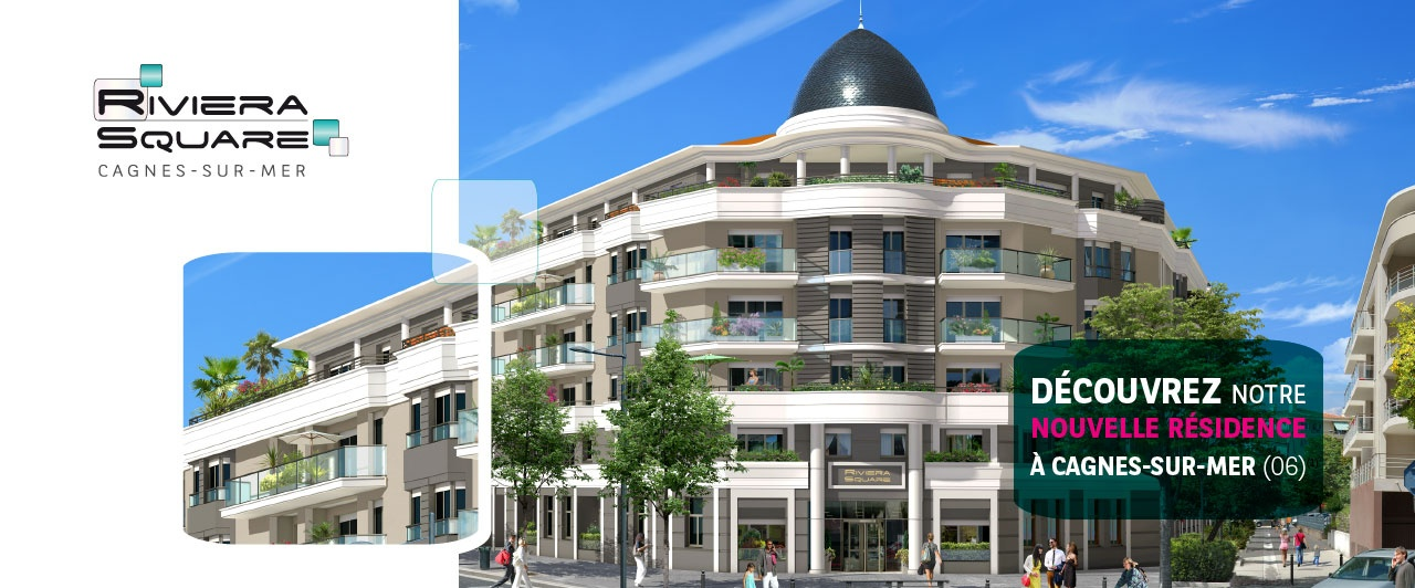 immobilier neuf riviera square
