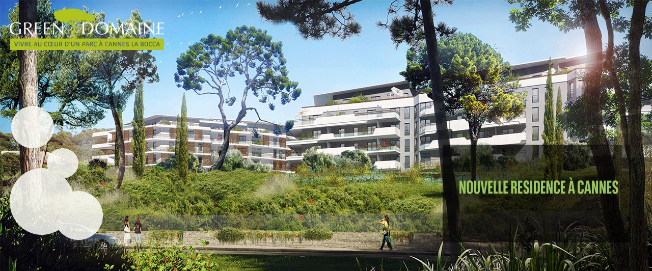 immobilier neuf cannes green domaine