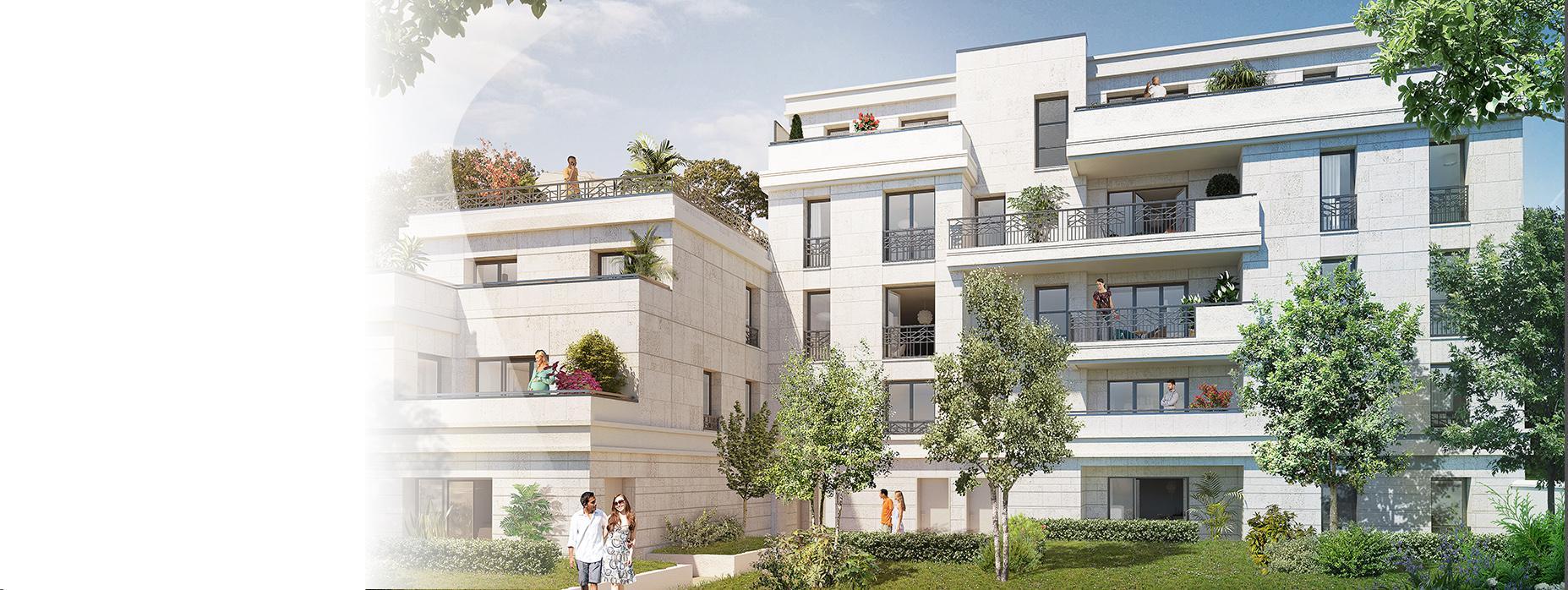 Clichy appartement neuf BNPPI