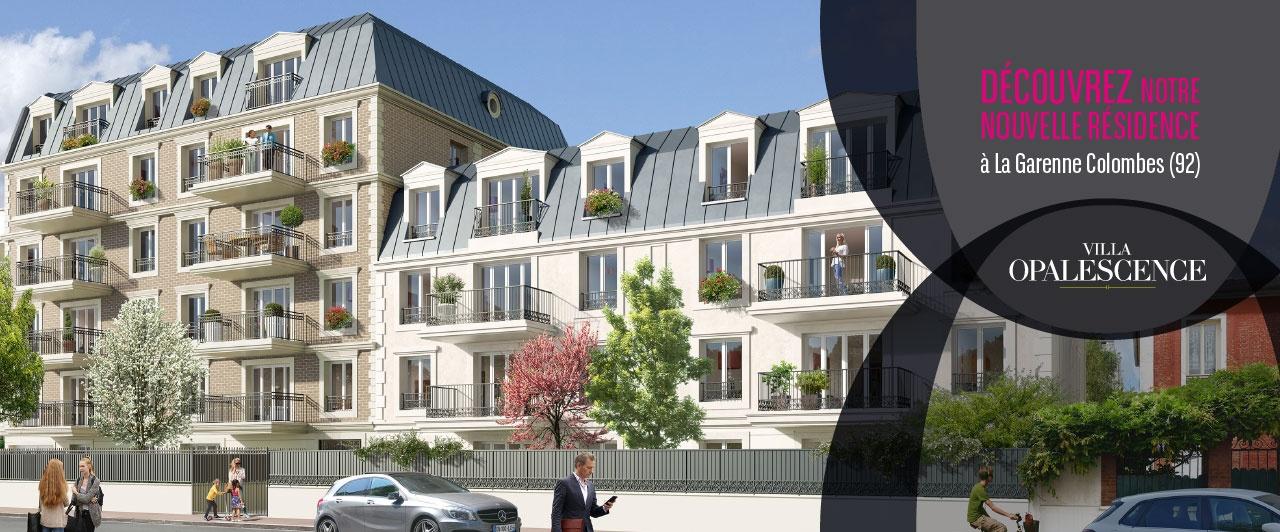 La Garenne Colombes - Villa Opalescence  bnp paribas immobilier