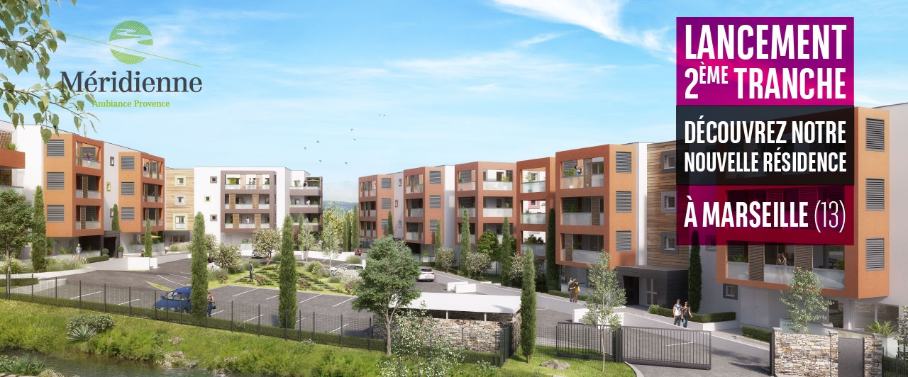 Programme immobilier neuf à Marseille Meridienne tranche 2