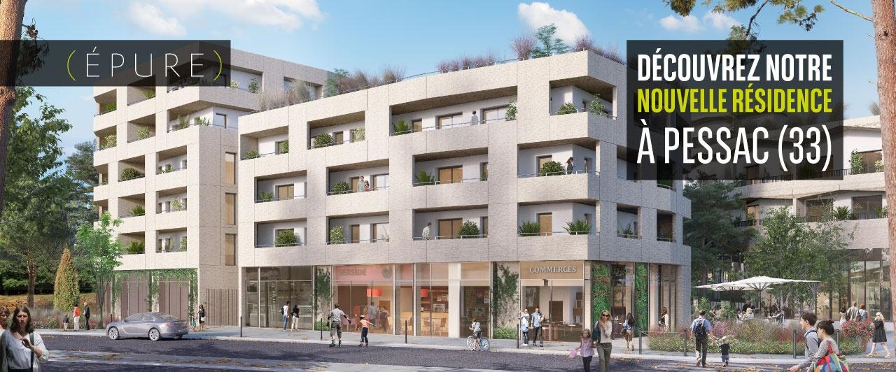 Programme immobilier neuf à Pessac