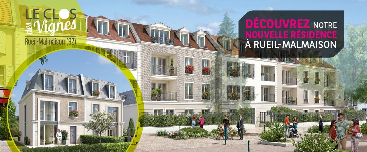 Nouveau programme immobilier neuf à Rueil malmaison