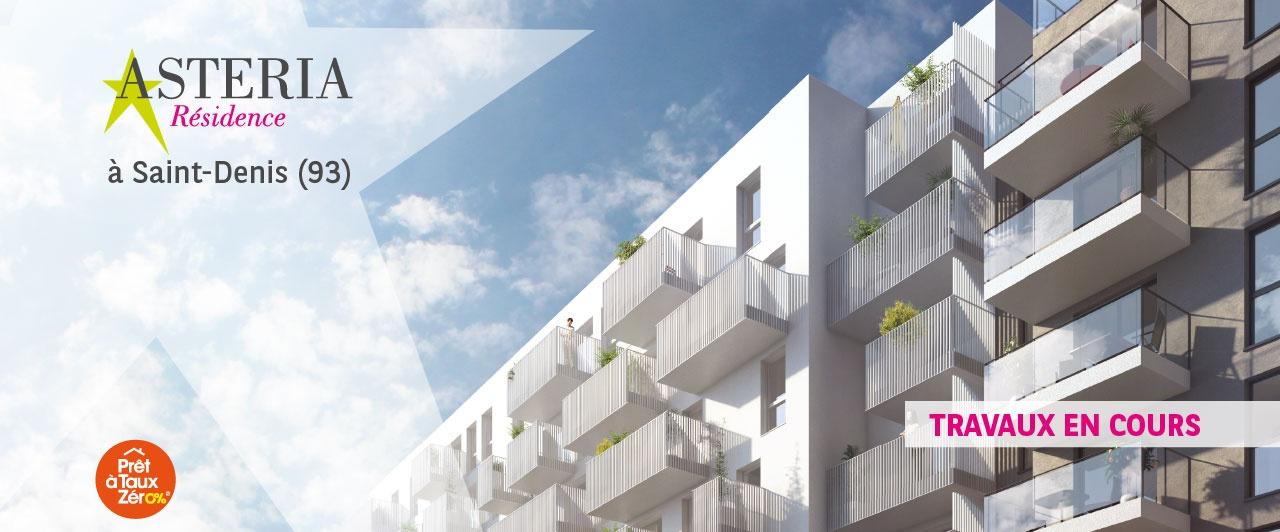 Saint Denis, appartement neuf, logement, 93