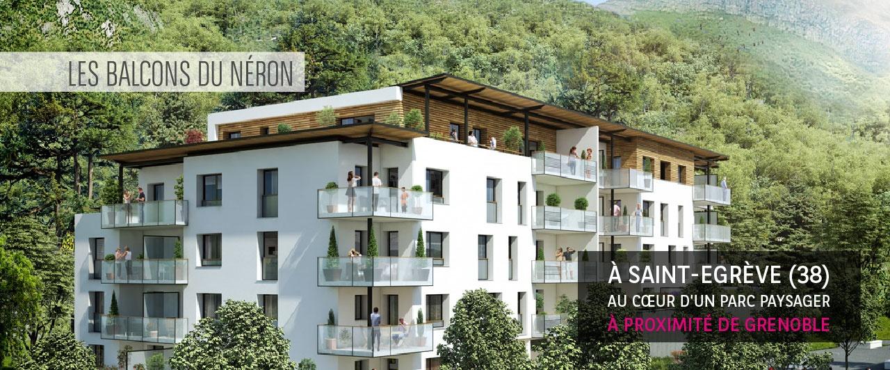 saint egreve les balcons du neron achat appartement neuf