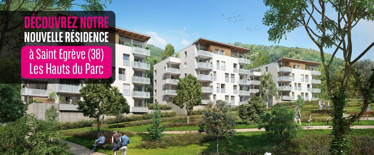 Programme immobilier neuf à Saint Egrève les hauts du parc