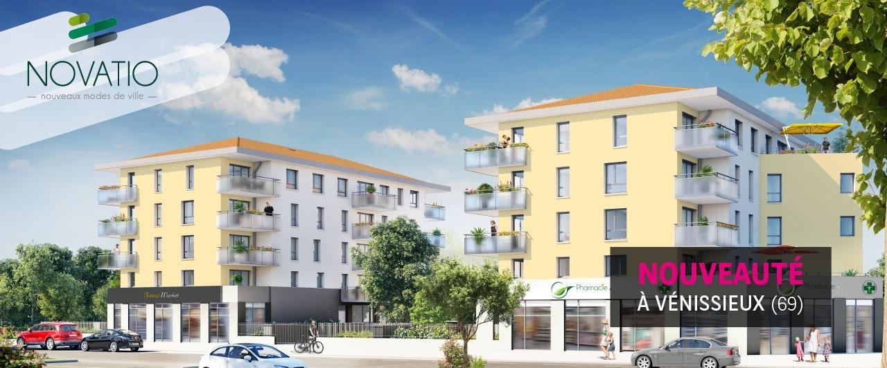 Vénissieux Novatio, logement neuf, appartement, rhône-alpes