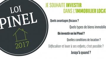 Loi Pinel 2017 : comment investir dans l'immobilier locatif ?
