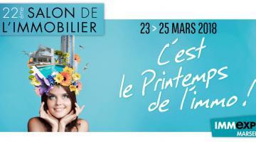 Salon de l'immobilier à Marseille du 23 au 25 mars 2018