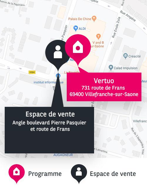 adresse BV Villefranche Vertuo